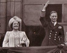 The present Queen's parents, Queen Elizabeth and King George VI